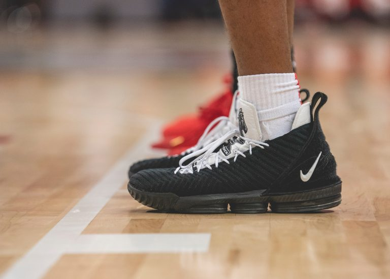 What Are Basketball Shoes Made Of?